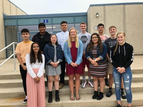 West Noble Homecoming Court 2019