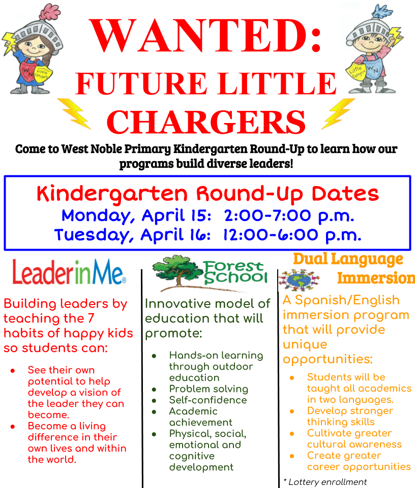 Wanted: Future Little Chargers