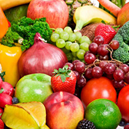 Picture of fruits and vegetables