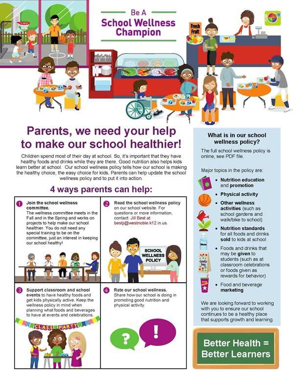 Be A School Wellness Champion