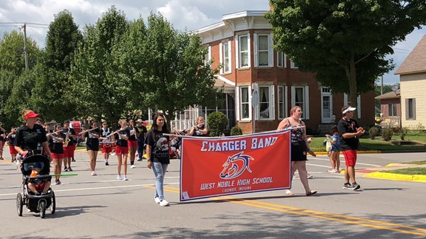 West Noble High School Marching Chargers