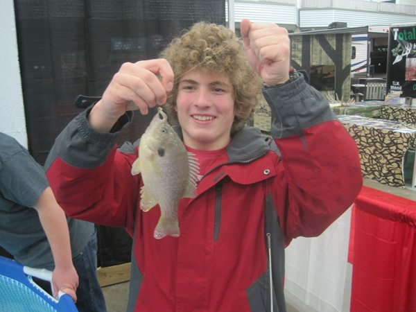 8th Grade Charger Fishing Club members traveled to the All-American Outdoor Expo