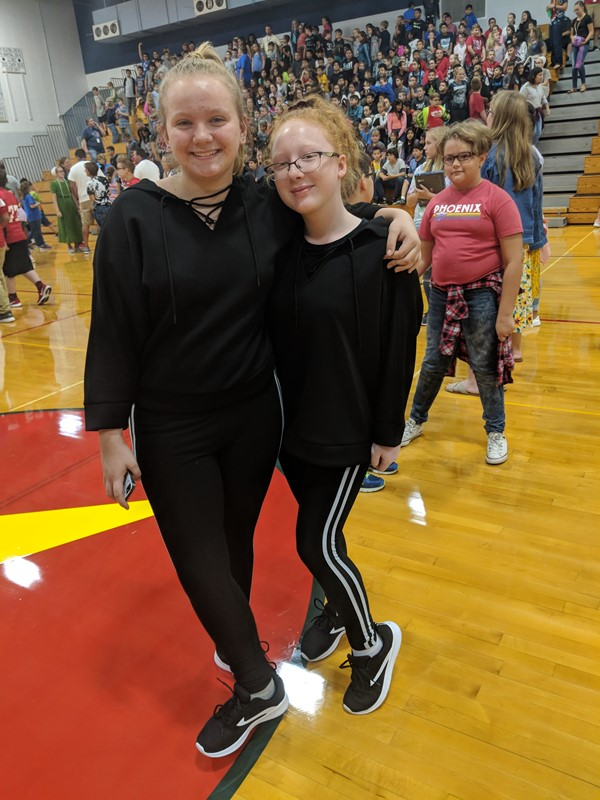 Twin Day and Pep Session