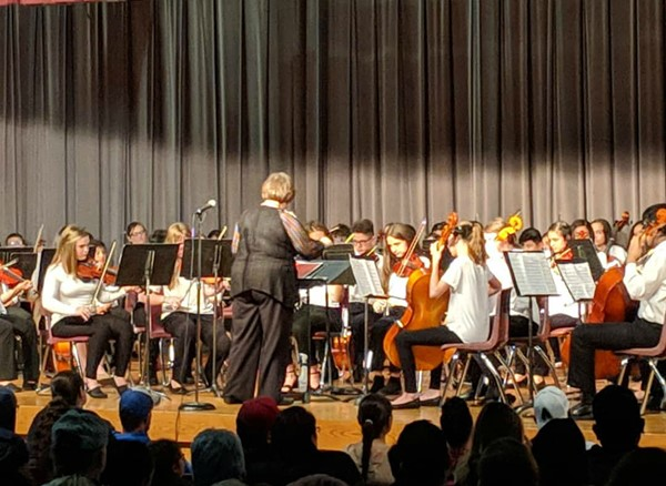 End of year Orchestra Concert.