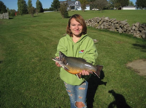 The Charger Fishing Club leadership team enjoyed the rare chance to fish a private stock pond. Trophy fish!