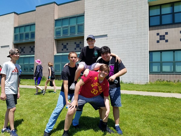 8th Grade Field Day fun.