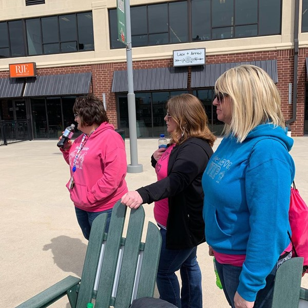 WNP students enjoy watching the TinCaps.