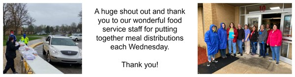 Thank you to our Food Service staff.