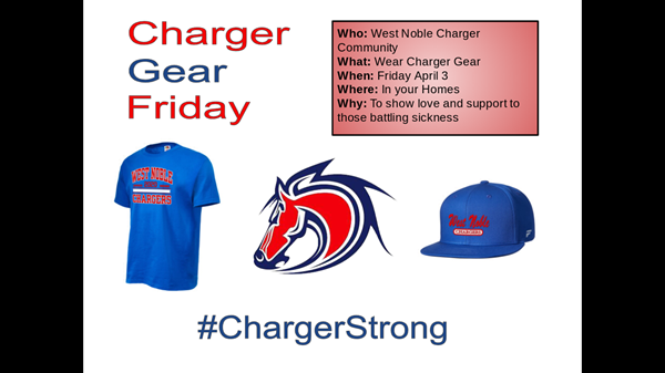 Charger gear day.