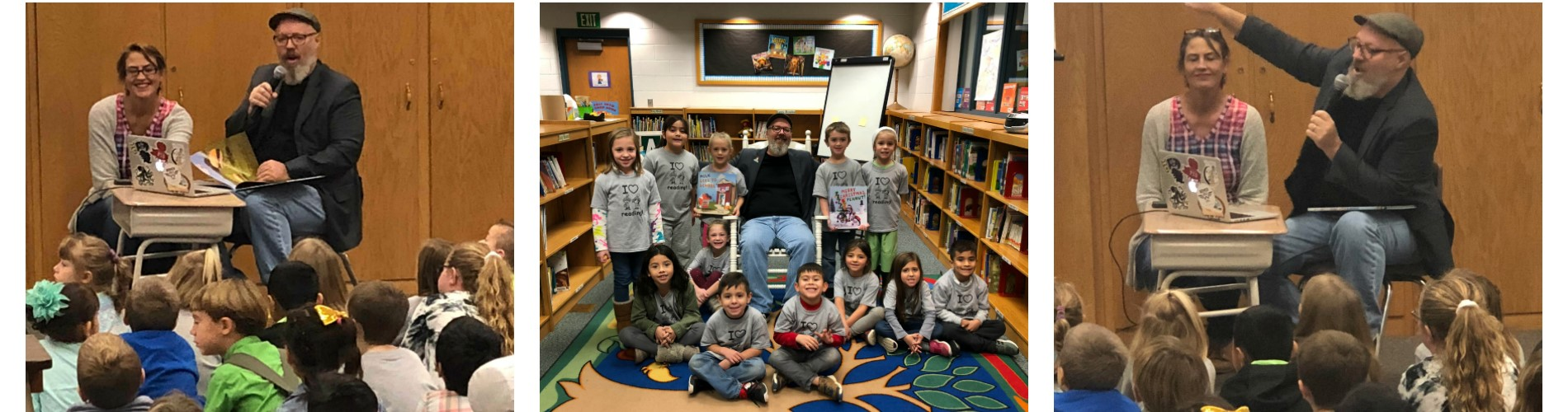 Illustrator Terry Border visits WNP