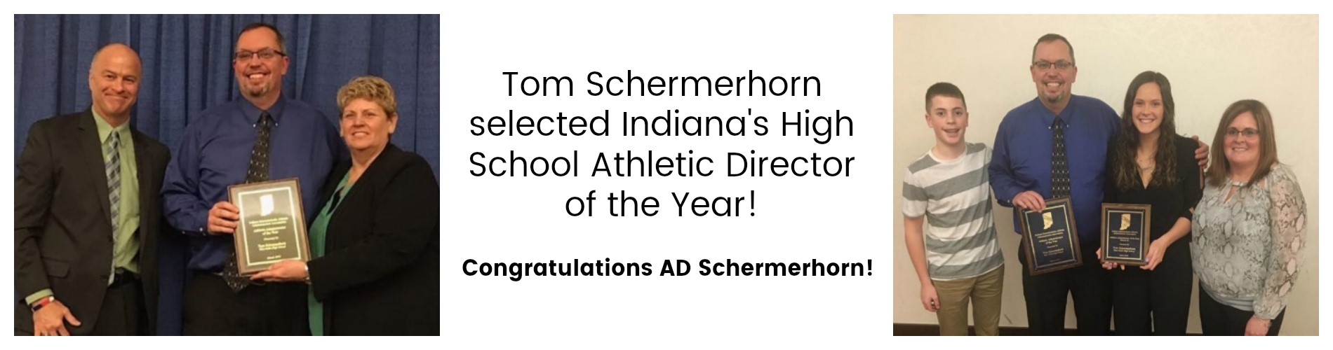 Schermerhorn named Indiana AD of the Year.