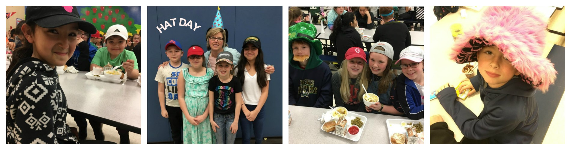 WNE students wear hats to support Kids Helping Kids.