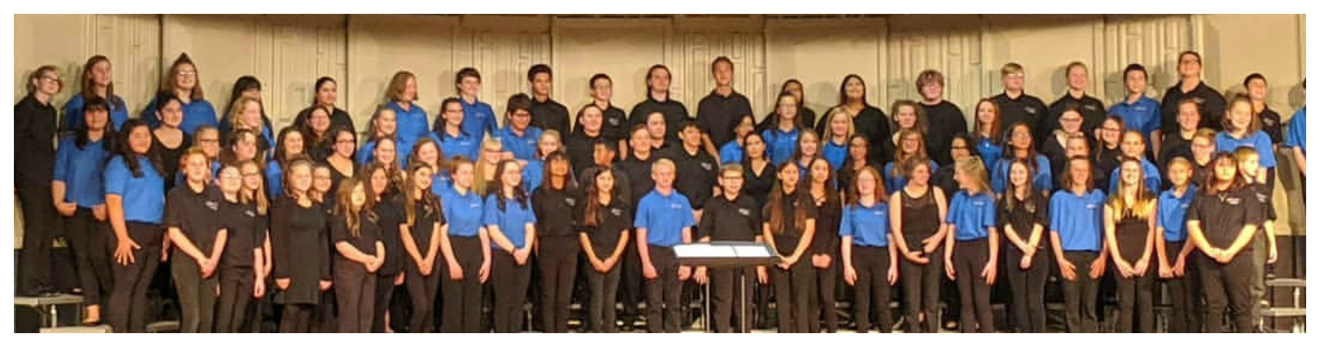 7th, 8th, and HS Choir.