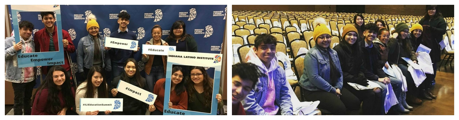 Students attending Latino Summit