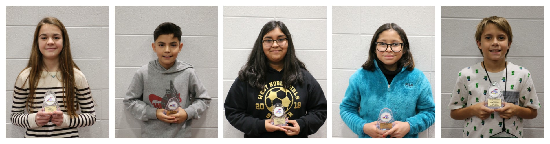 WNMS Charger Character Awards - Tri 1
