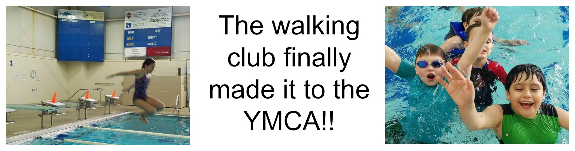 Walking Club at the YMCA